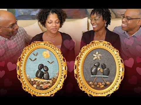Power Couples Rock Art Project with Relationship Talk