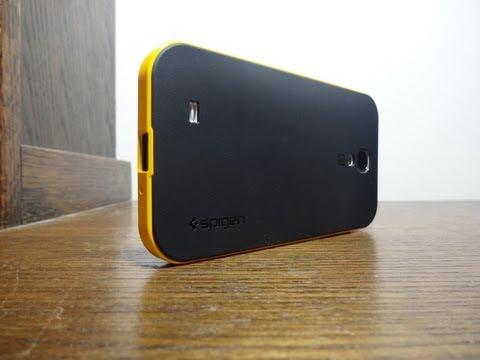 Galaxy S4 SPIGEN SGP Neo Hybrid Case Review