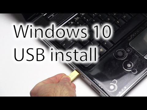 Install Windows 10 from USB (using ISO-file)