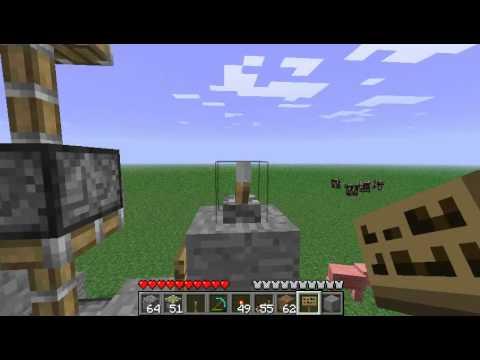 Minecraft - Piston Elevator [1.7]