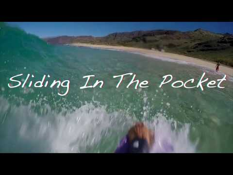 Sliding In The Pocket--Shorebreak Sesh Bodyboarding