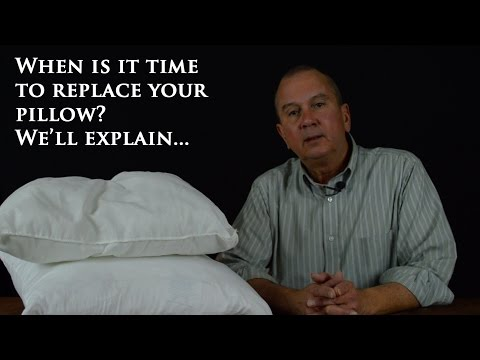 When to replace your down pillow!