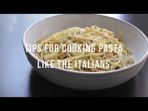 How to Cook Pasta Like the Italians | by @cooksmarts