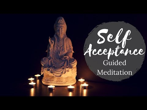 Self acceptance by connecting with your younger self (guided mindfulness meditation)