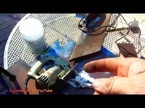 Easy Way to Cut Sheet Metal with a Jig Saw