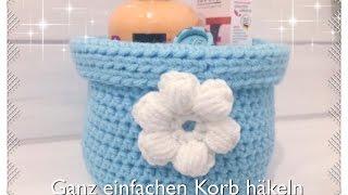 Korb Häkeln Anleitung Mit Textilgarn Music Jinni