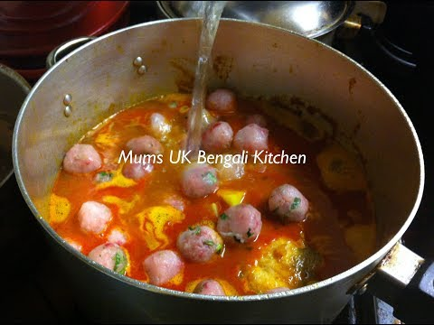 HOW TO COOK SITHOL FISH BALL CURRY | FISH KOFTA CURRY