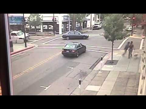Runaway car in San Rafael nearly hits Guide Dogs for the Blind trainers