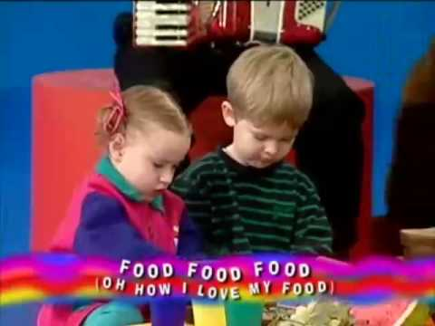 The wiggles food food food oh how I love my food