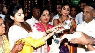 Shilpa Shetty, Son Viaan Celebrate Ram Navami With Sister Shamita Shetty