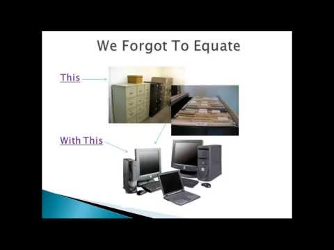 Let's Get Organized! Setting up your Electronic Files