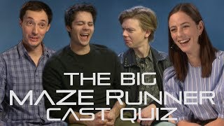 How well do the Maze Runner cast really know each other?