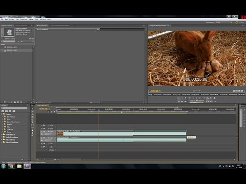 Adobe Premiere Pro CS5.5 - How to cut video - BASIC