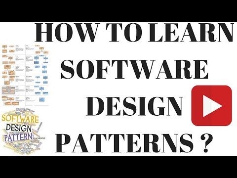 HOW TO LEARN SOFTWARE DESIGN PATTERNS