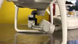 Phantom 4 pro+ gimbal calibration issues