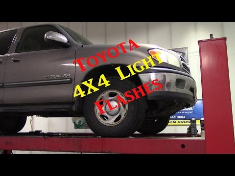 Toyota Tundra 4X Light Flashes - Diff Actuator Diag and Replacement