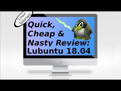 Lubuntu 18.04 Review