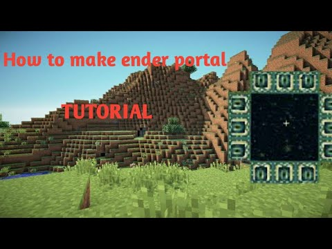 How to create ender portal in minecraft