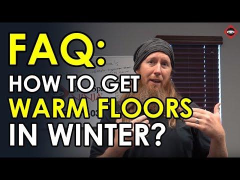 Will Spray Foam Insulation Make Floors Warm? | Crawl Space Insulation | Crawl Space Floor Insulation