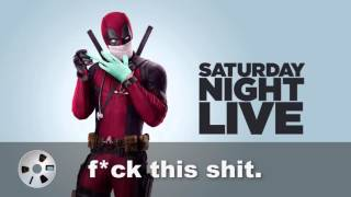 Why Deadpool won't be hosting SNL