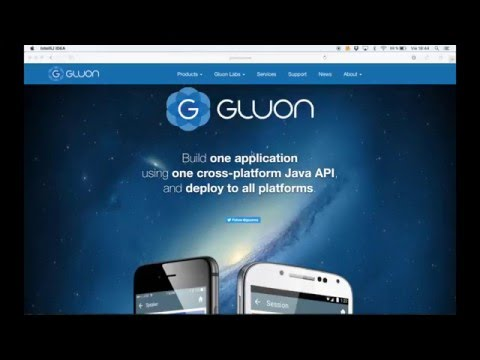 Getting Started with Gluon in IntelliJ IDE