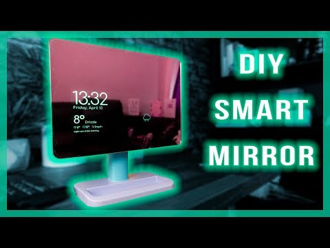 Make a Smart Mirror from an Old Tablet