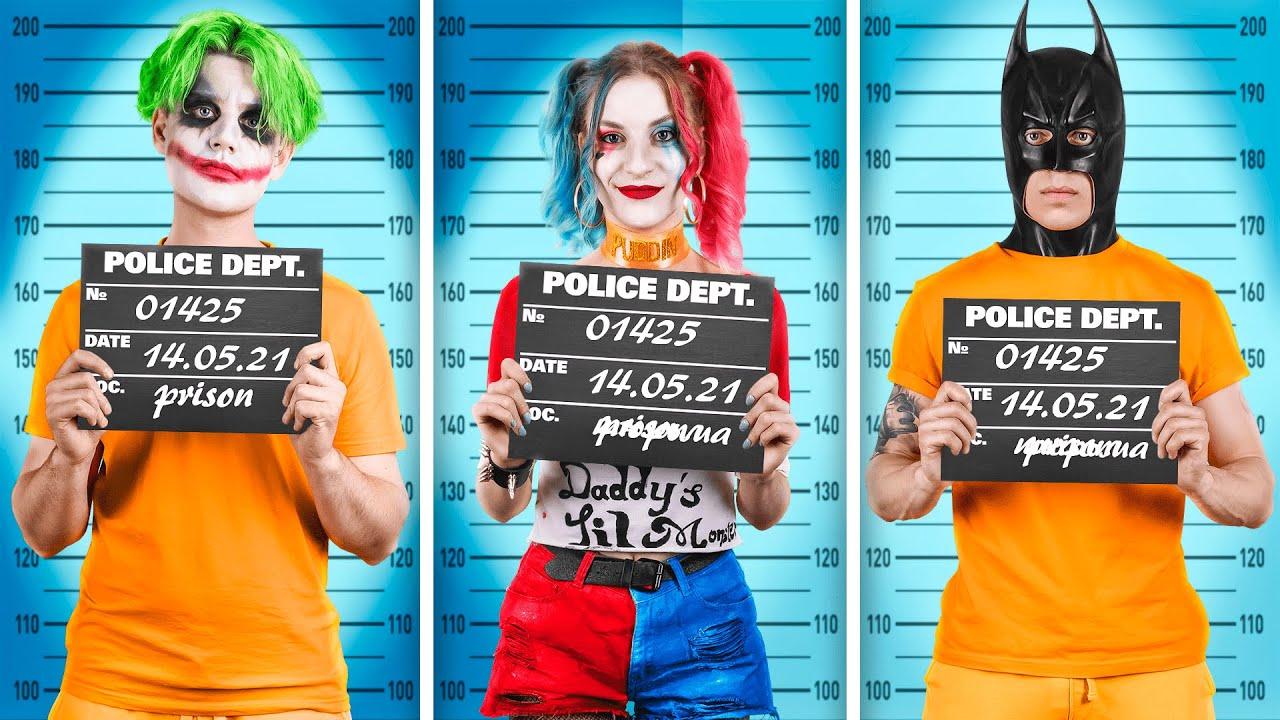 Superheroes in Prison!