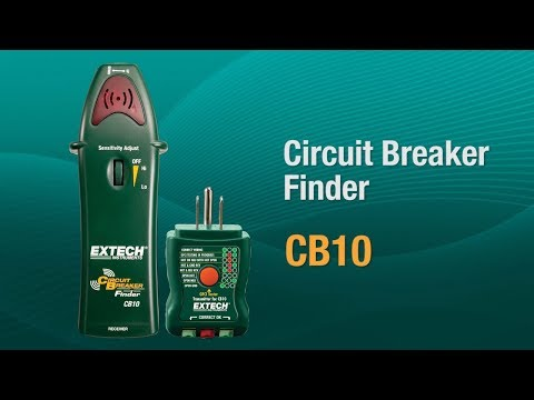 Extech CB10: AC Circuit Breaker Finder/Receptacle Tester