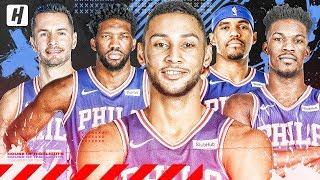 Philadelphia 76ers VERY BEST Plays & Highlights from 2018-19 NBA Season!