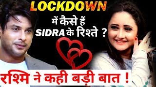 What is the Current Relationship Status of Rashmi Desai and Siddharth Shukla 1