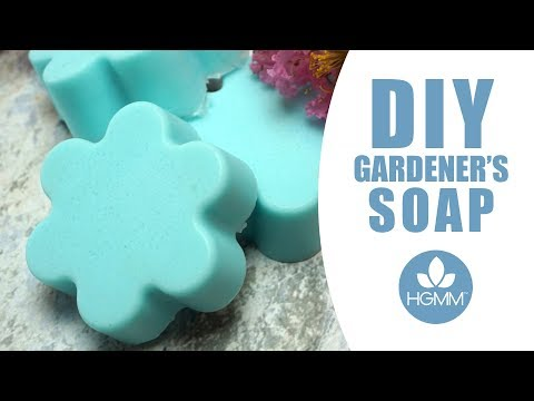 DIY Exfoliating Gardener's Soap