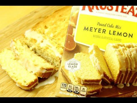 Krusteaz Meyer Lemon Pound Cake Mix