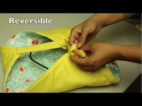 How to Make a Casserole or Pie dish Carrier