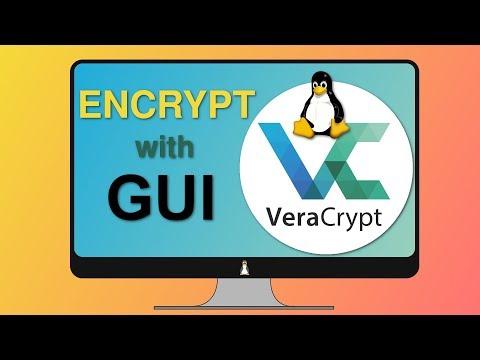 Linux GUI encryption (2018)