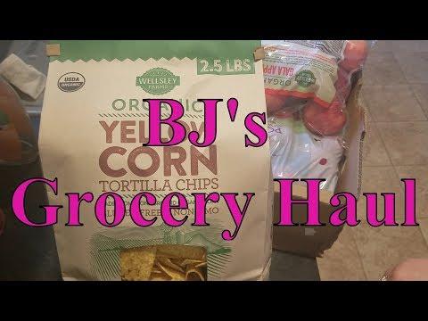 BJ's Grocery Haul 03/4/18