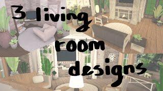 Modern Aesthetic Living Room Bloxburg