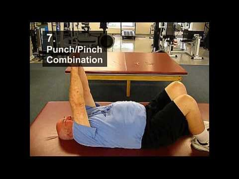 Fall Prevention Exercises (Posture Series) - Punch/Pinch Combination