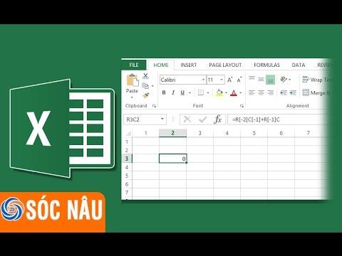 Excel không hiện cột a b c