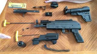 Arm brace or stock install on Chiappa PAK 9 9mm install