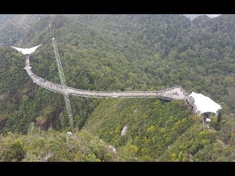 Langkawi sky bridge and cable car,Malaysia