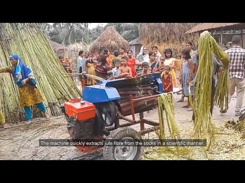 Mechanised Jute Processing and its Prospects (with subtitle)