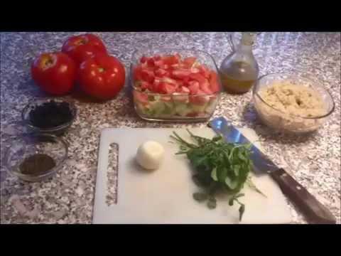 Quinoa Salad Recipe (stop motion)