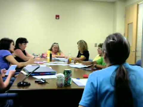 PTA Meeting 5/21/2015