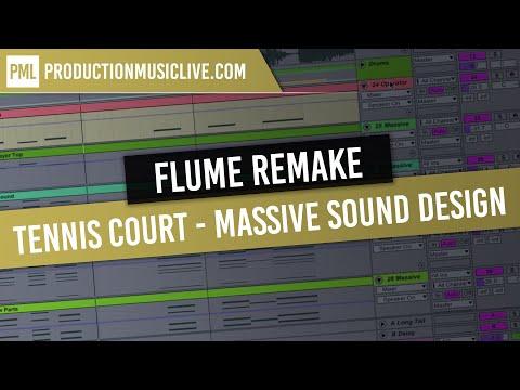 Flume Synth Tennis Court - Massive Sound Design Tutorial Lorde