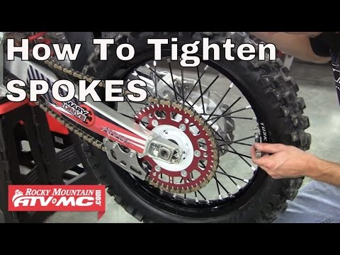 How To Tighten The Spokes On Your Motorcycle