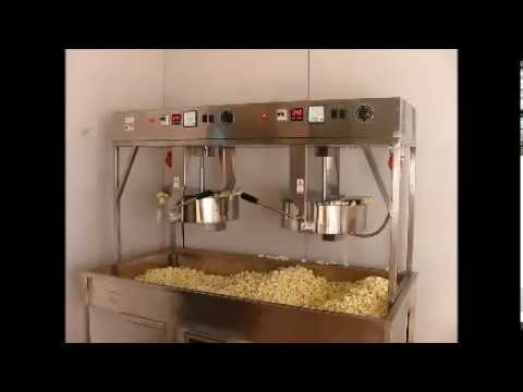 Twin Kettle Popcorn machine