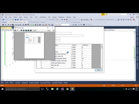 C# Tutorial - Print Windows Form | FoxLearn