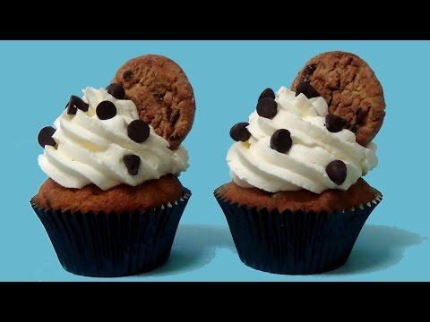 How to make banana chocolate- chip cupcakes