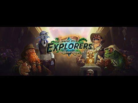 Hearthstone League of Explorers Class Challenge Warrior