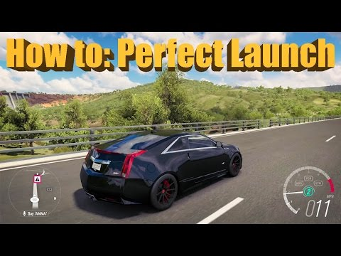 Forza Horizon 3 How To do a PERFECT LAUNCH - RWD and AWD